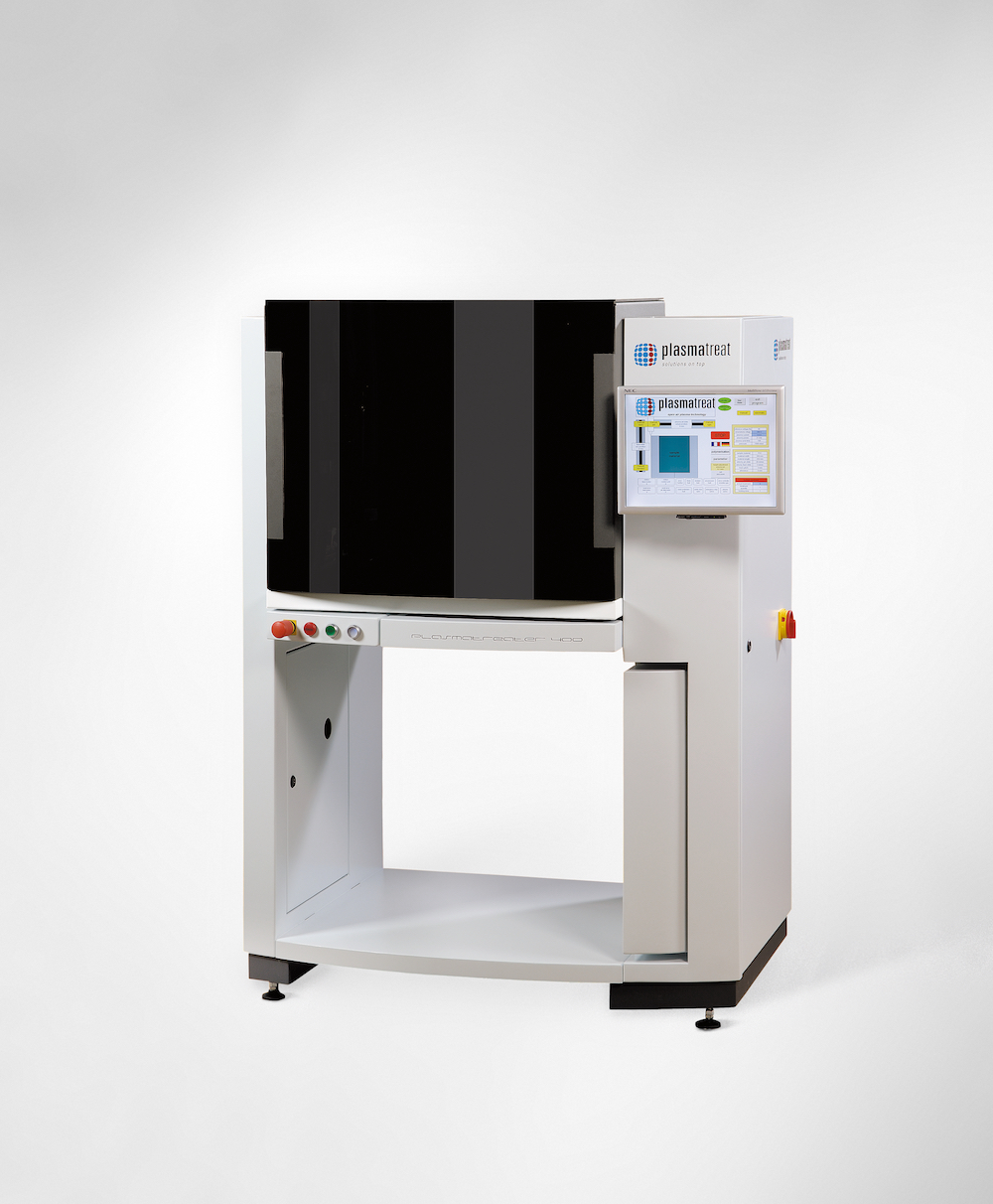 Plasmatreat laboratory plasma system Openair® Plasmatreater AS 400 to customize surfaces